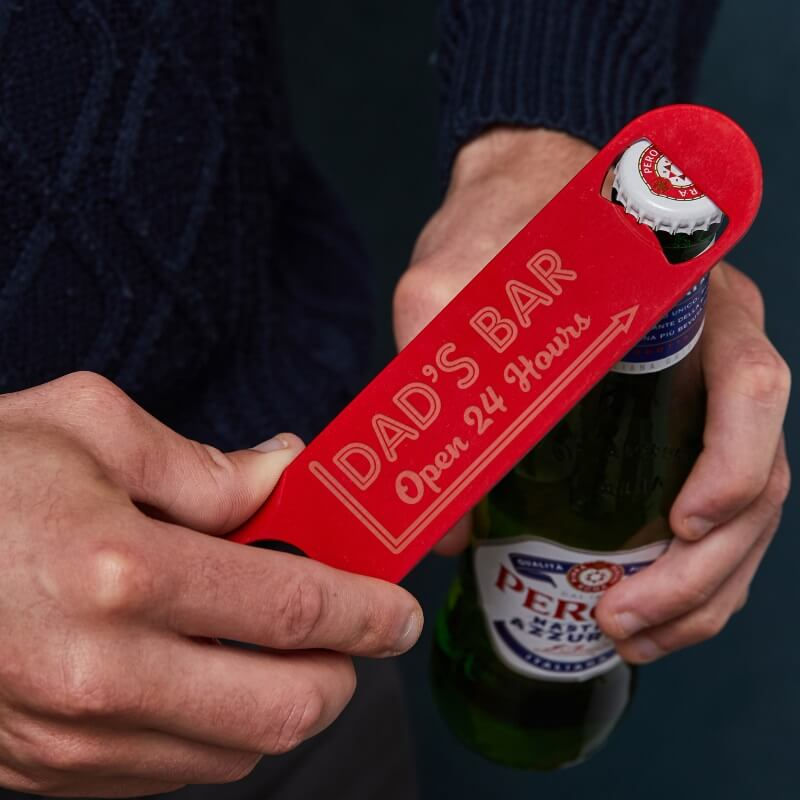 Personalised Any Message Bottle Opener