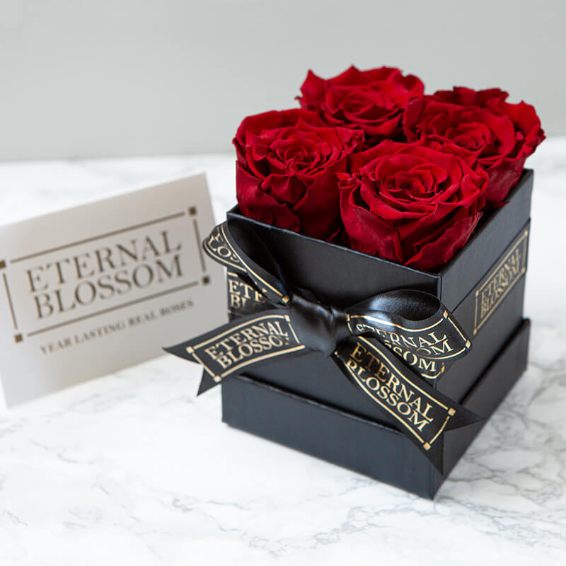 One Year Roses Box - 4 Piece