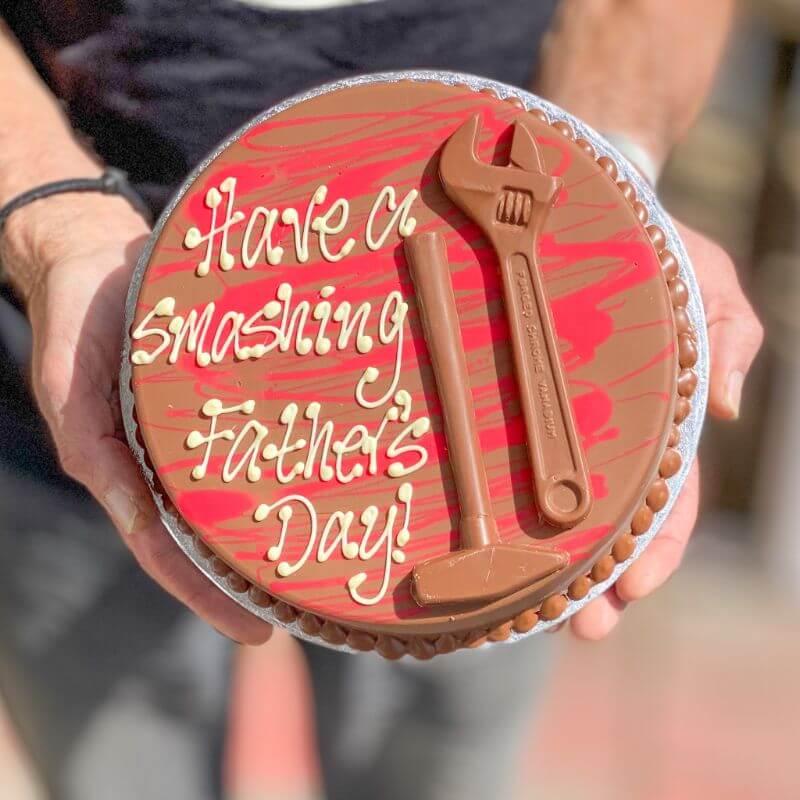 Personalised Chocolate Tool Box Smash