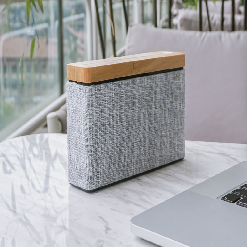 HiFi Square Bluetooth Speaker - Maple