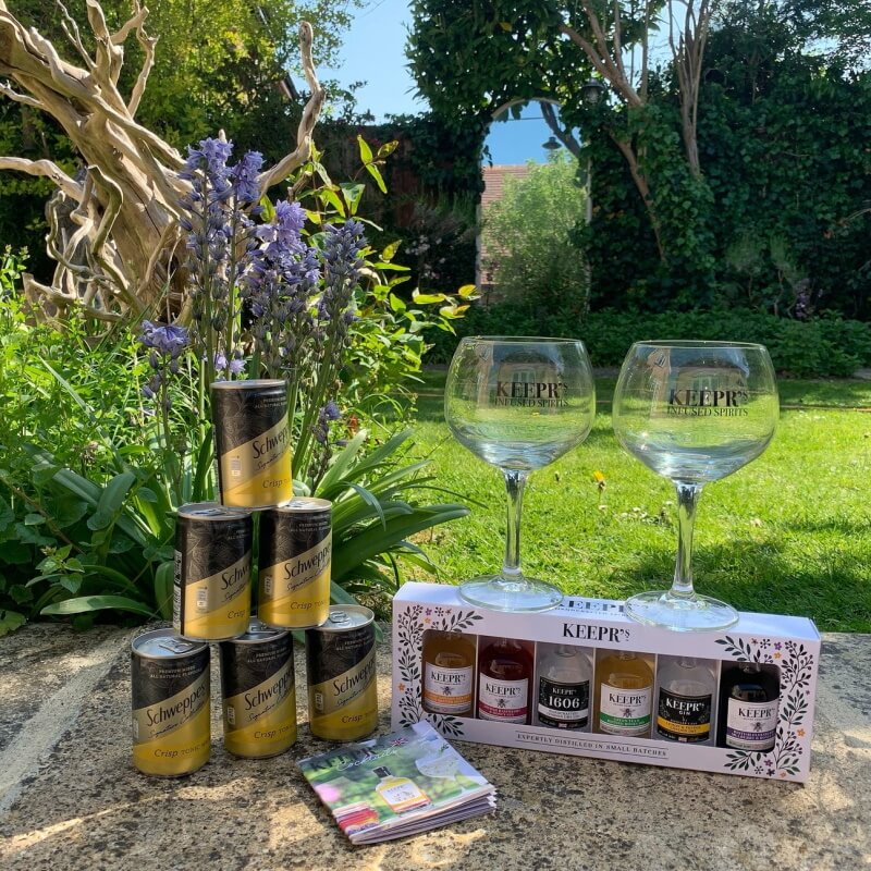 Keepr's Gin And Tonic Taster Box For Two