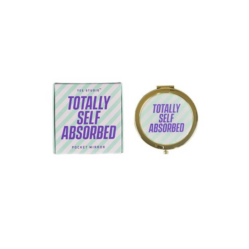 Compact Mirror - Self Absorbed