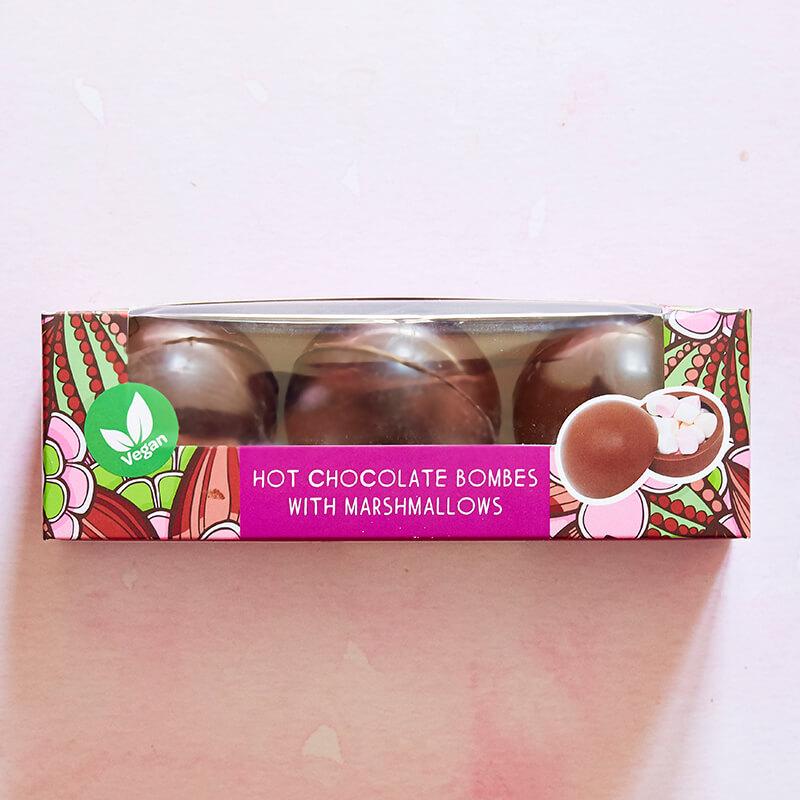 Vegan Hot Chocolate Bombes