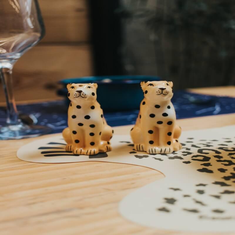 Cheetah Placemats - Set Of Six
