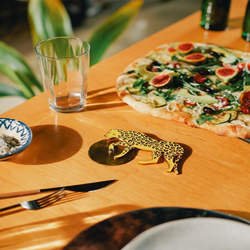 Savanna Cheetah Pizza Cutter