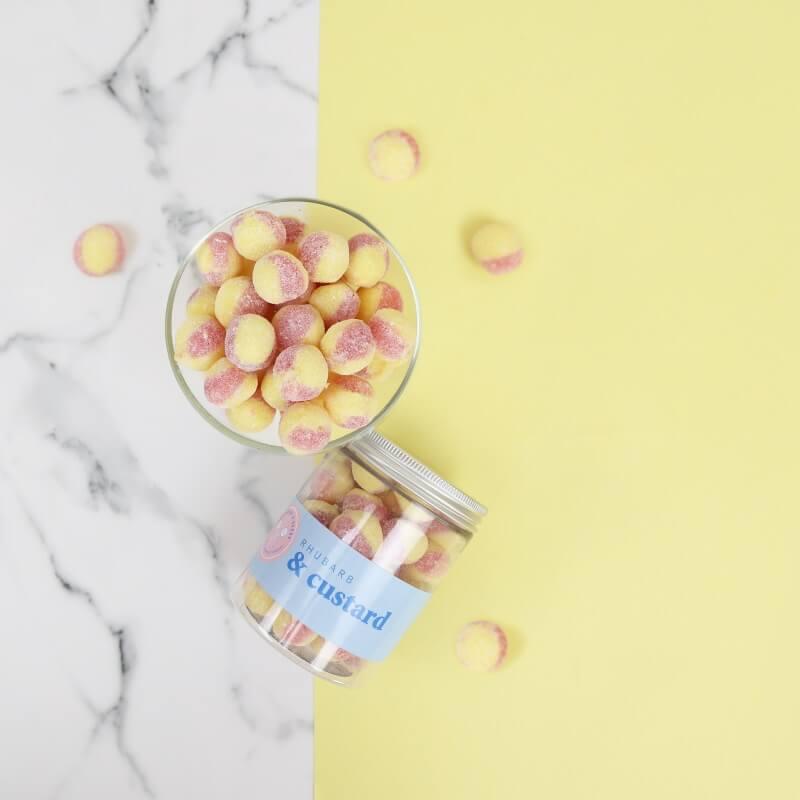 Rhubarb & Custard Sweet Tub
