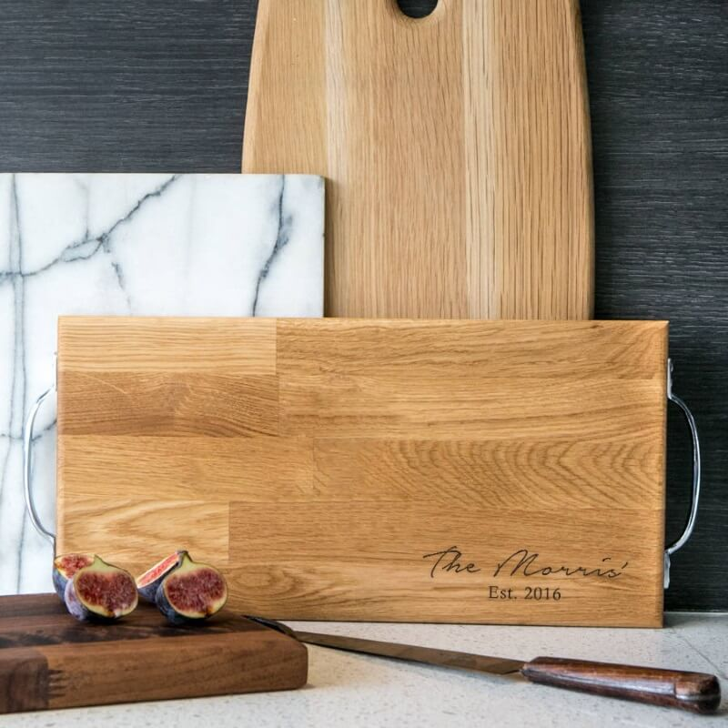Personalised Large Wooden Serving Board