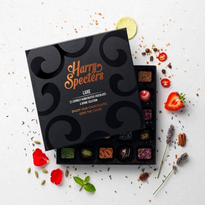 Luxe Handmade Chocolate Selection