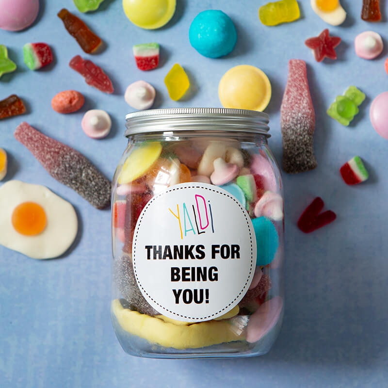 Thanks for Being You Greedy Guts Small Sweet Jar