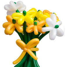 Image of Balloon Flower Bouquet