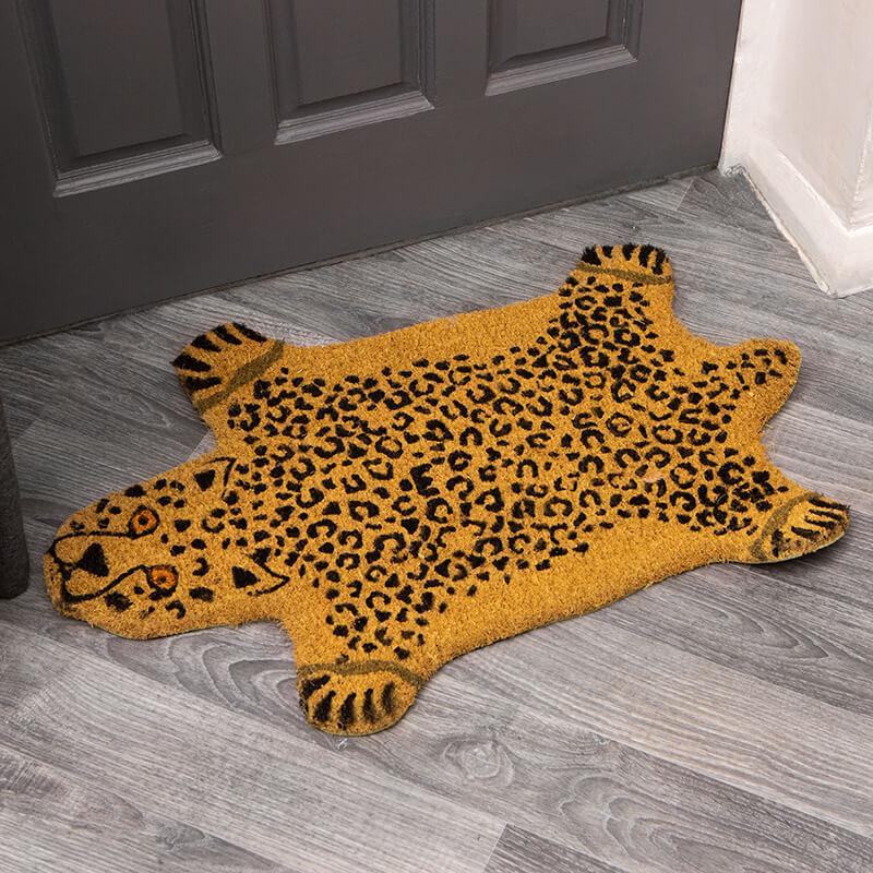 Doormat - Yellow Cheetah