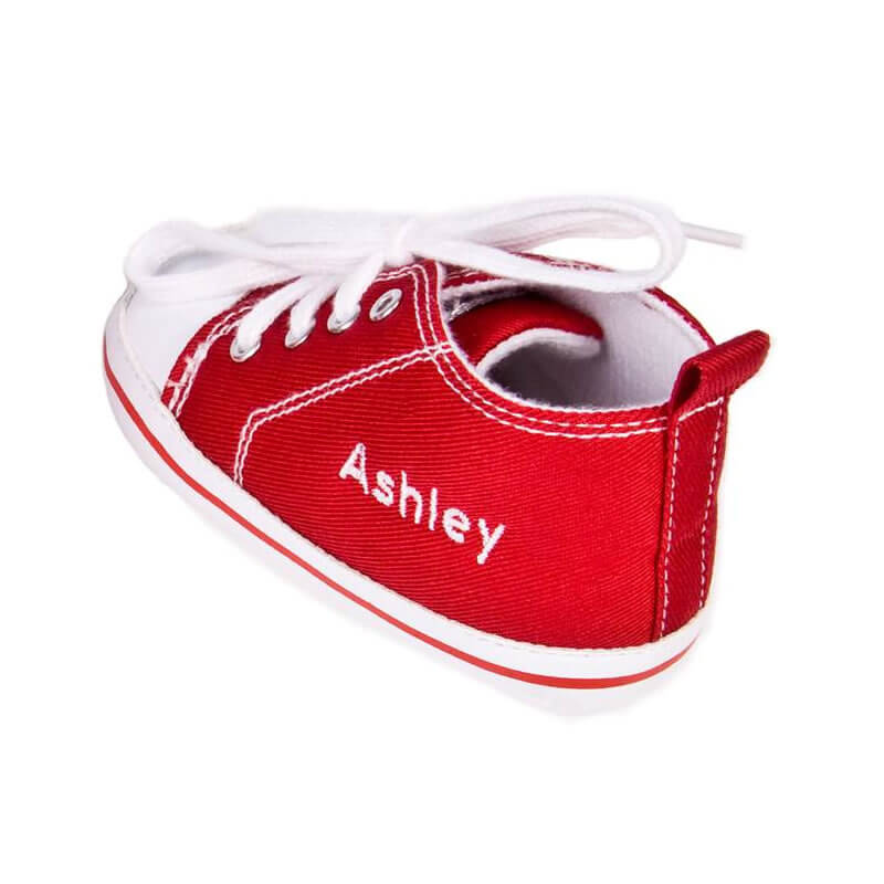 Personalised Baby High Top Trainers