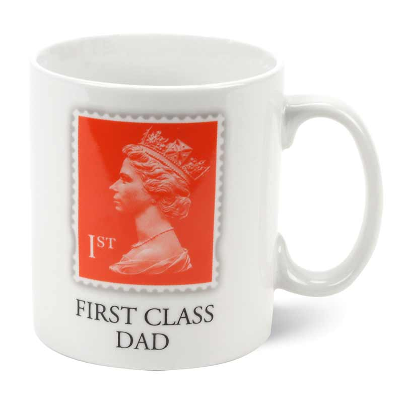 First Class Dad Porcelain Mug