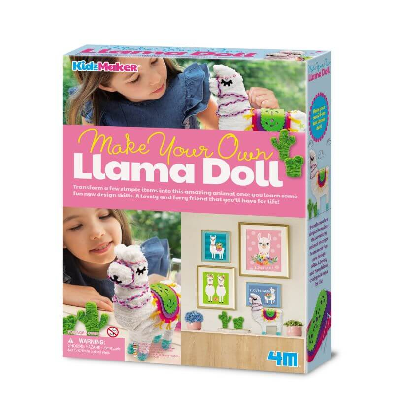 Make Your Own Llama Doll