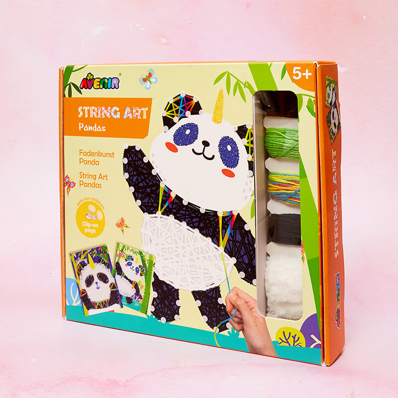 Panda String Art Kit
