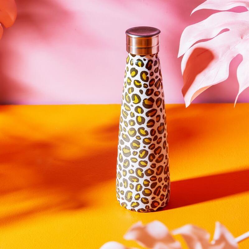 Leopard Stainless Steel Water Bottle
