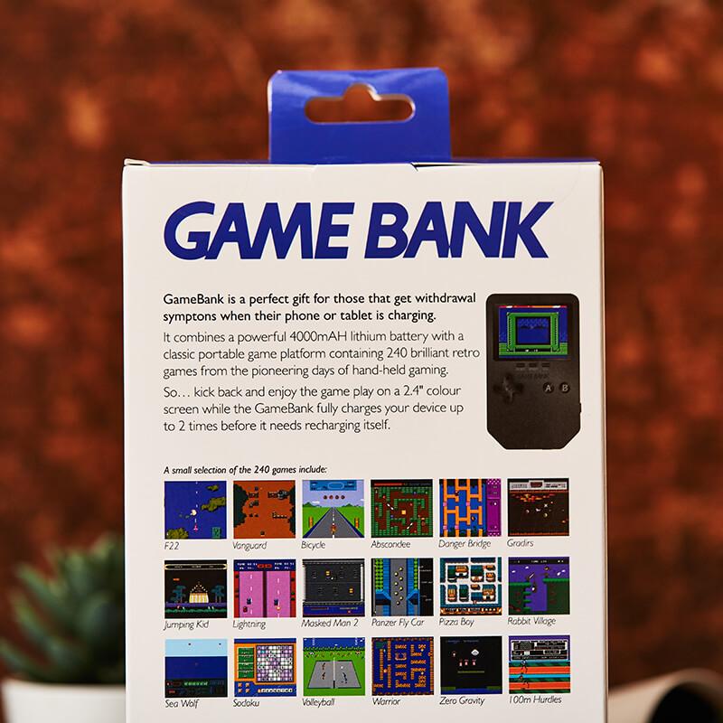 Gamebank - 240 Arcade Game Powerbank