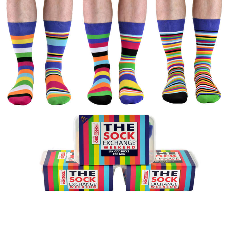 The Sock Exchange Weekend Mens Socks