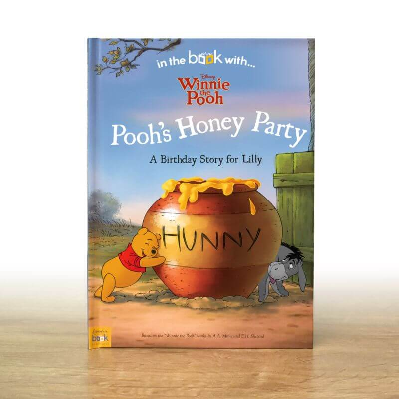 Personalised Winnie the Pooh's Honey Party
