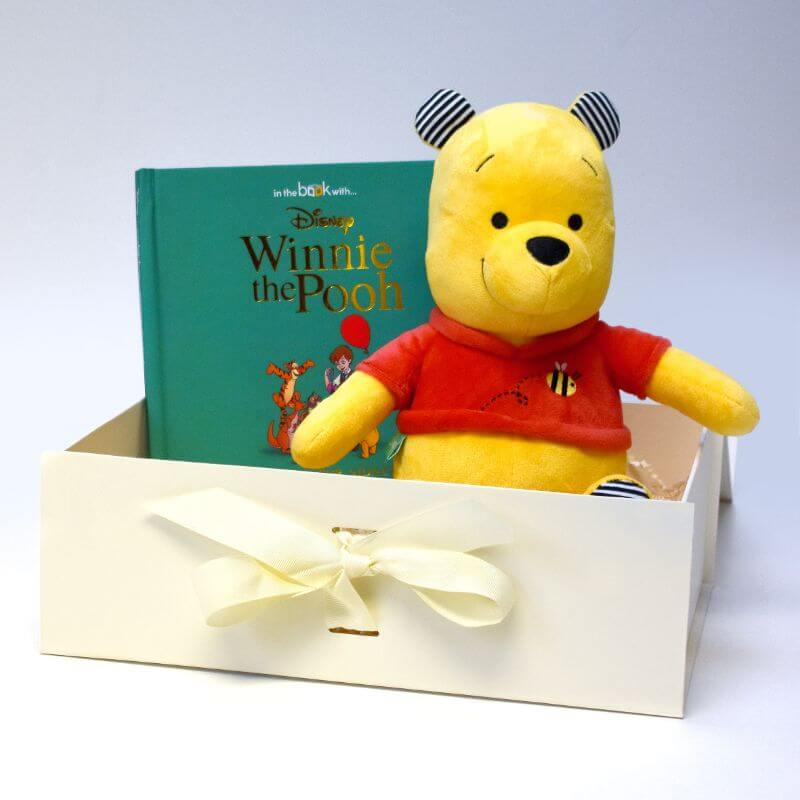 Personalised Disney Winnie-the-Pooh Book and Plush Toy Gift Set