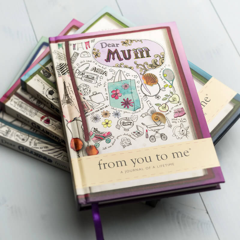 Dear Mum - From You to Me Book