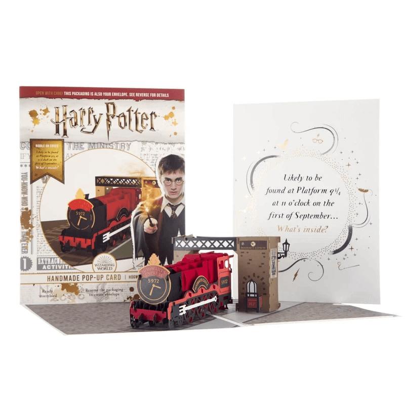 Harry Potter Hogwarts Express Pop Up Card
