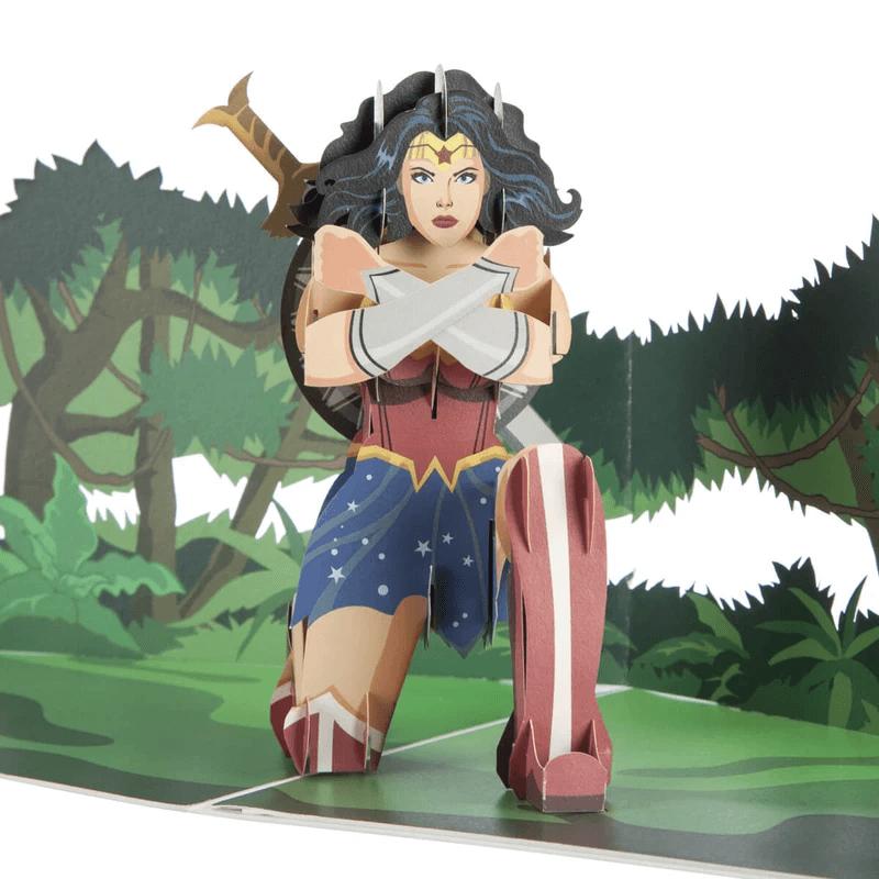 Wonder Woman Pop Up Card