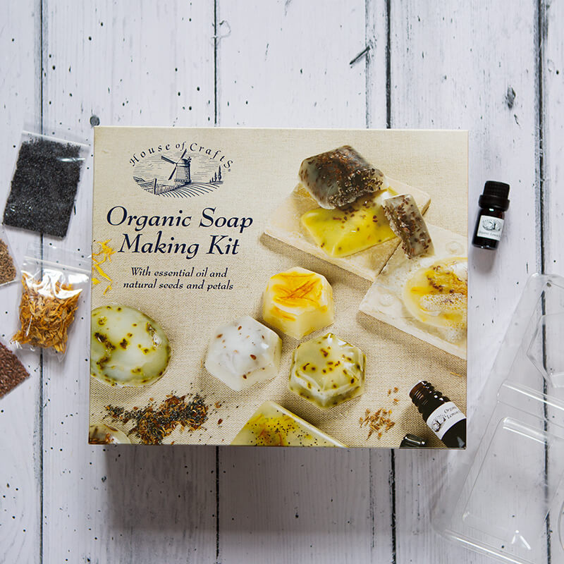 Organic Soap Making Kit