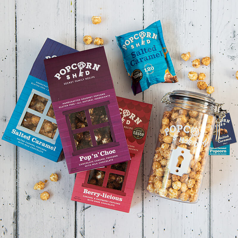 Chocolate Lover Popcorn Bundle