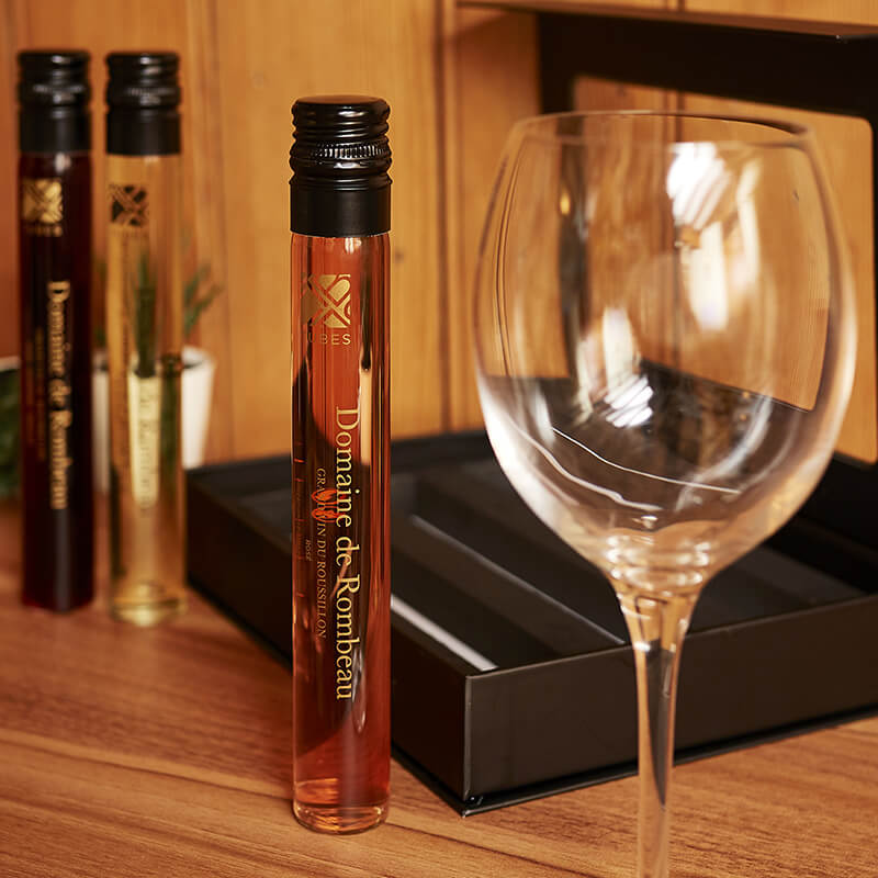 Wine In Tubes - Set Of Three French Wines