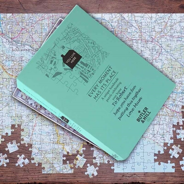 Personalised Postcode Jigsaw - 400 Pieces