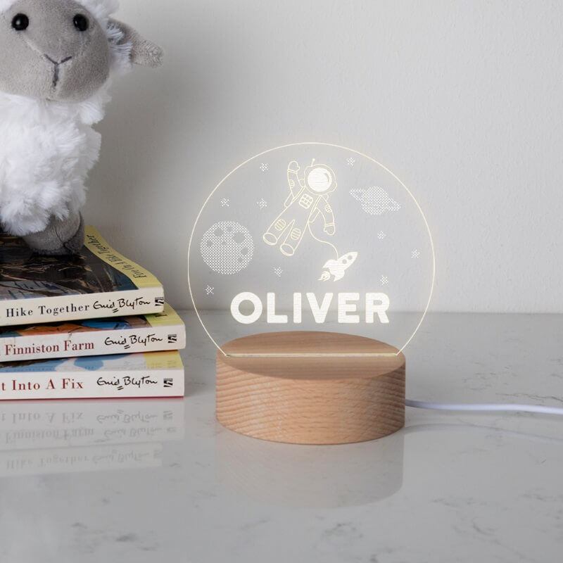 Personalised Children's Night Light