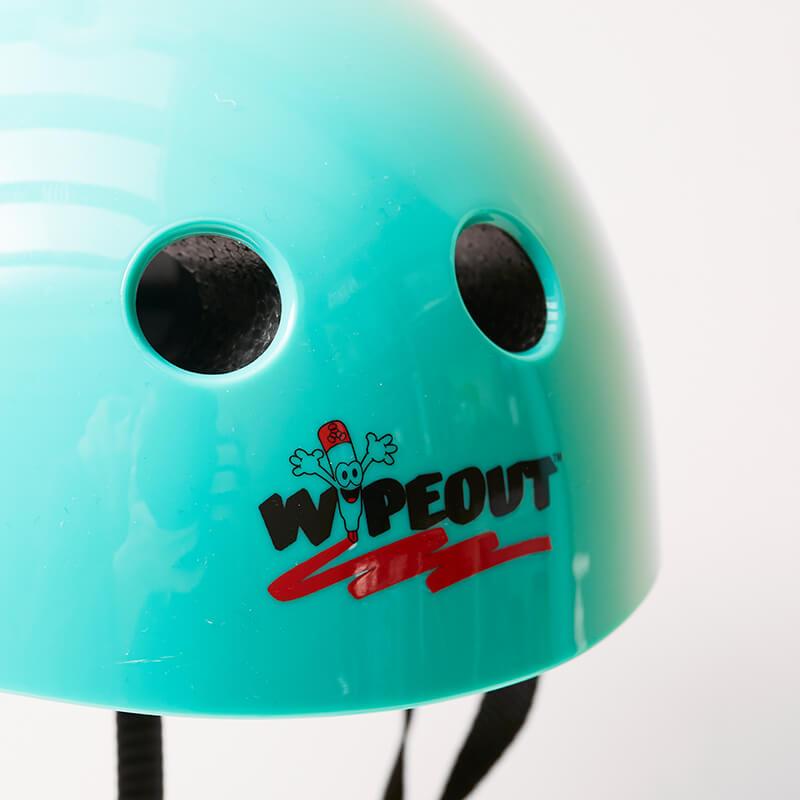 Wipeout Helmet Age 5 +   Teal