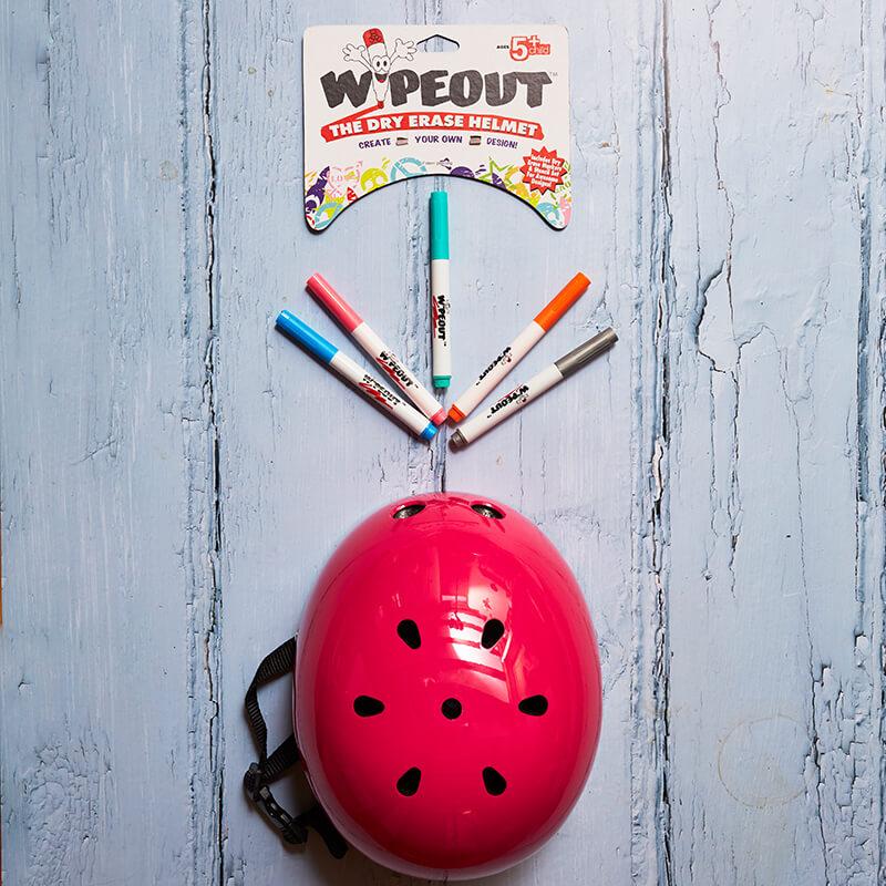 Wipeout Helmet Age 8 +   Pink