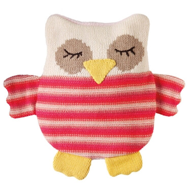 Aroma Home Knitted Snuggle Hottie - Owl