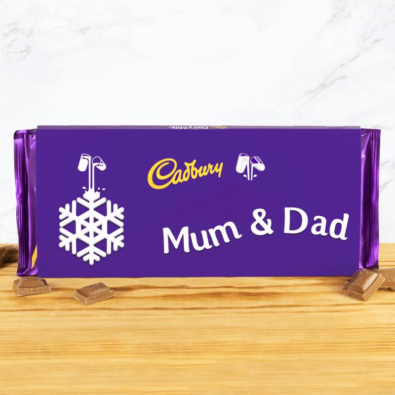 Personalised Cadbury Christmas Chocolate - 360g