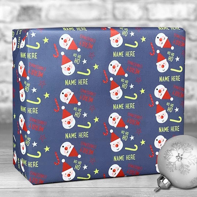 Personalised Christmas Santa Gift Wrap
