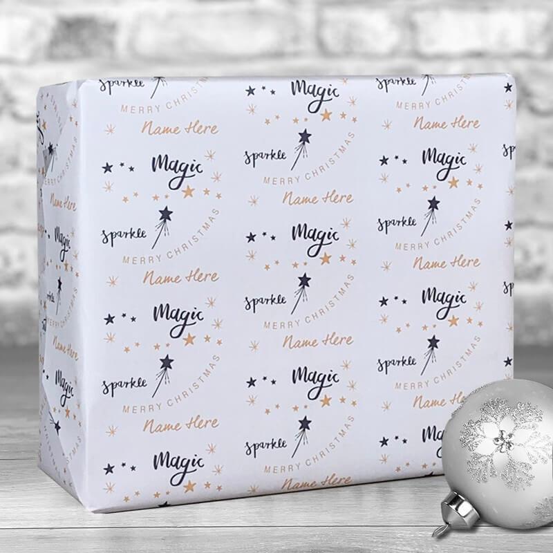 Personalised Christmas Magic Gift Wrap