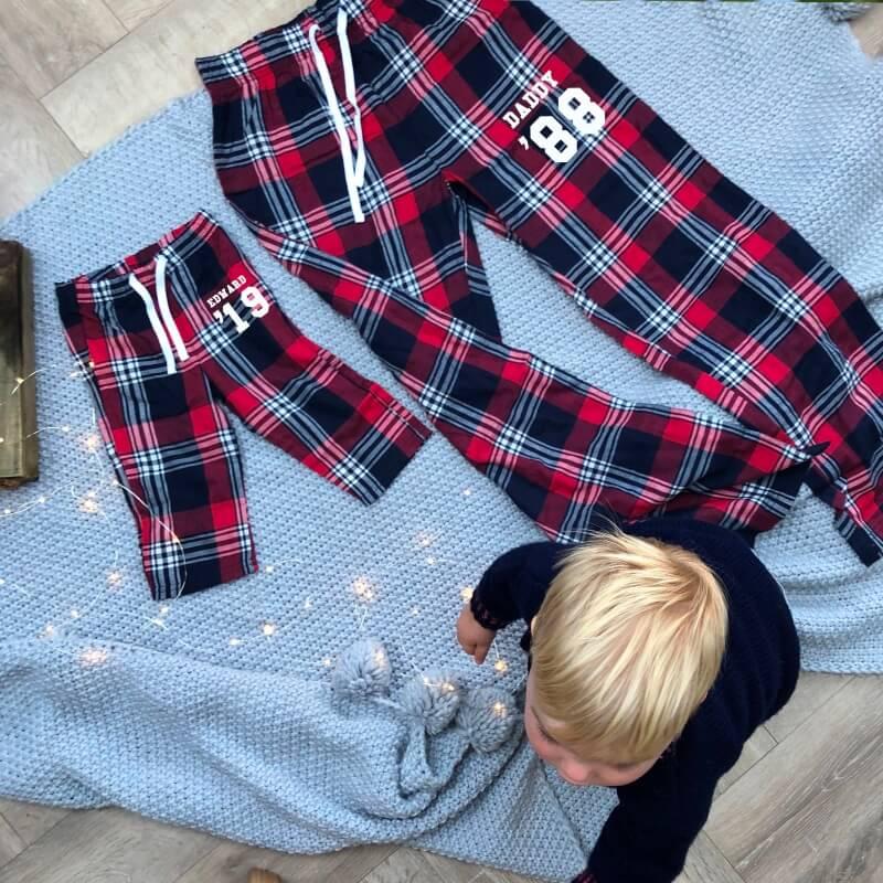Personalised Family Personalised Pyjamas