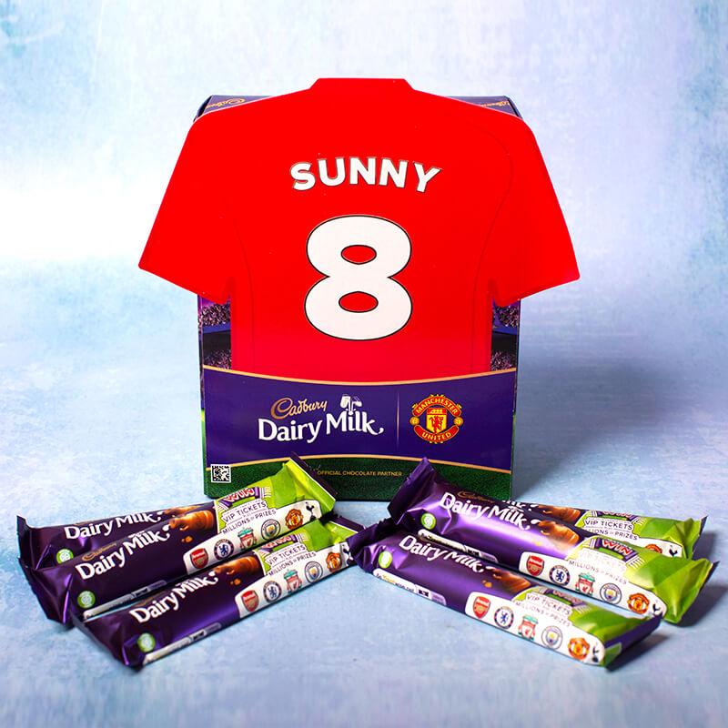 Personalised Football Shirt Favorites Box