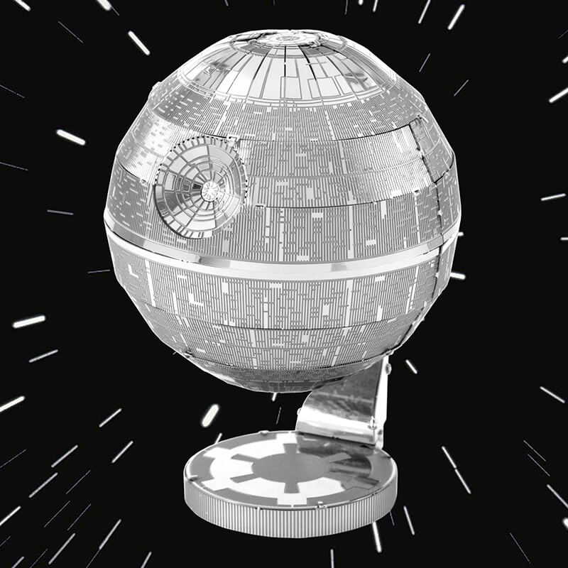 Metal Earth Star Wars Death Star 3D Model Kit