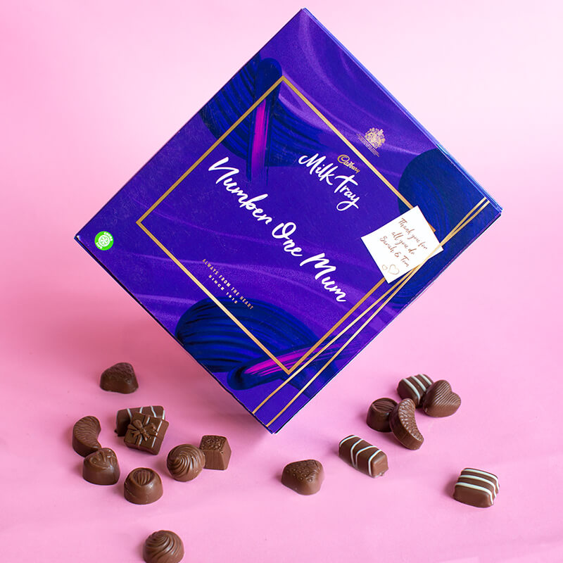 Personalised Cadbury Mothers Day Milk Tray - 360g