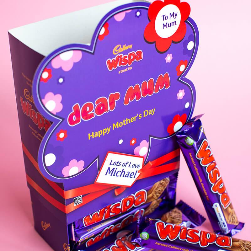 Personalised Mothers Day Favorites Box - Wispa