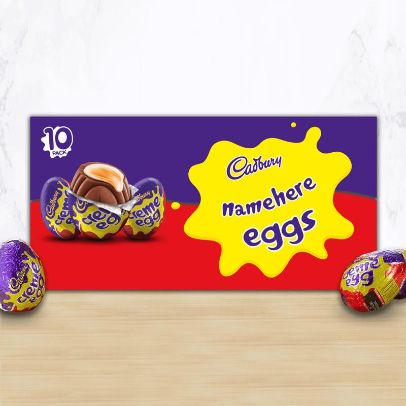 Personalised Cadbury Creme Egg Box