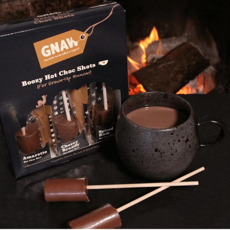 Boozy Hot Chocolate Shot Gift