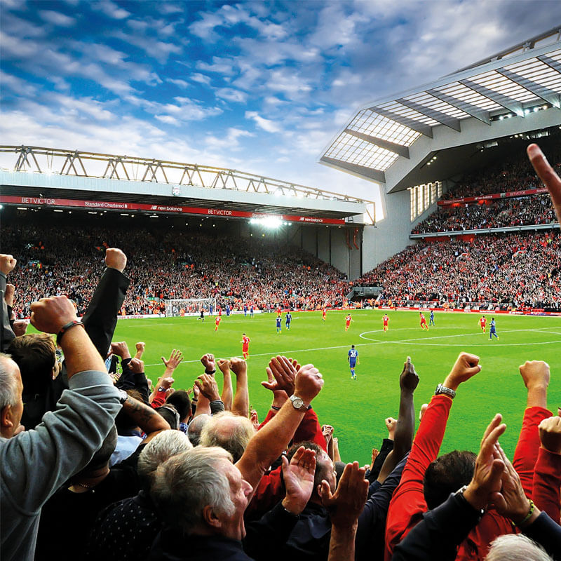 Liverpool FC: The Anfield Stadium Experience for Two