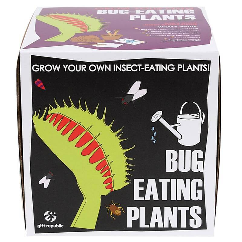 Sow and Grow - Bug-Eating Plants