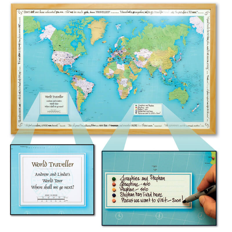 Personalised places we have been world map verkuilenschaaij updated gumiabroncs Image collections