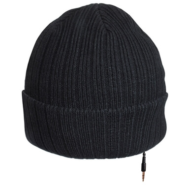 iHat - Knitted Beanie Headphone Hat