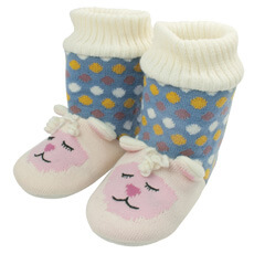 Image of Lamb Knitted Booties